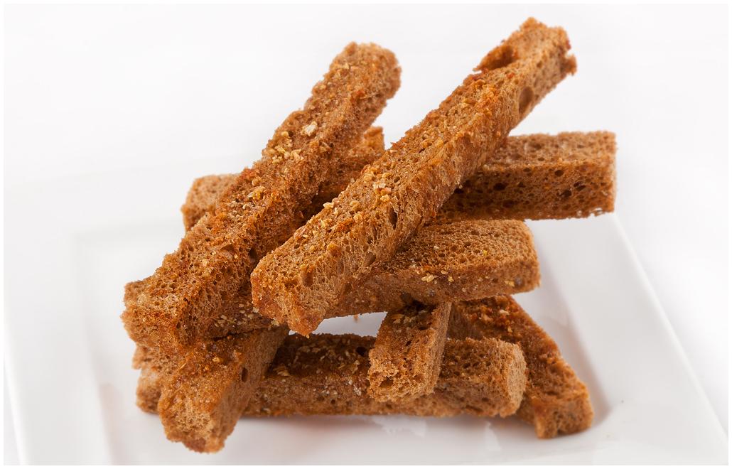гренки из ржаного хлеба в духовке