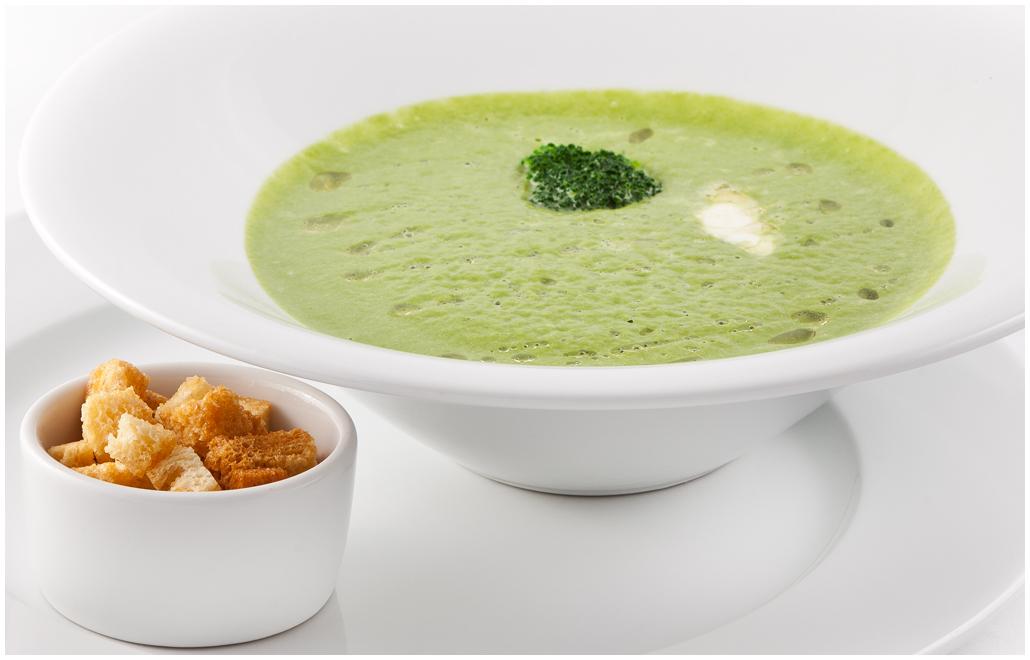крем суп с брокколи и сыром рецепт с фото