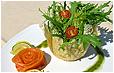 Итальянский cырный салат с апельсинами