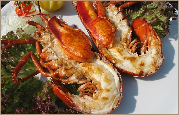 Лобстер гриль lobster grill рецепт