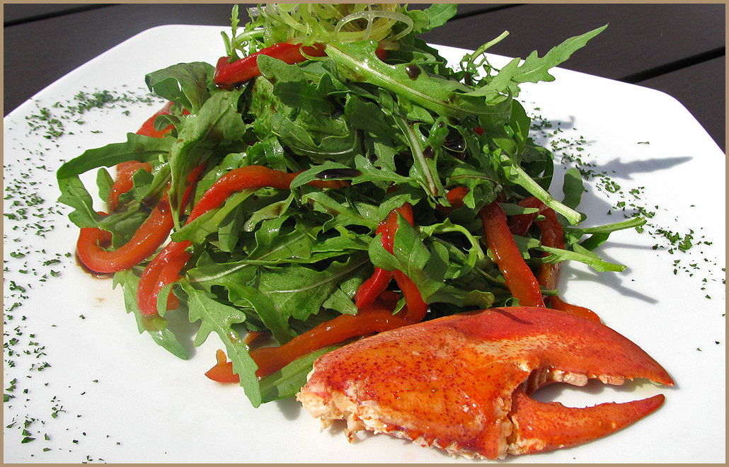 Салат с лобстером (Lobster Salad), рецепт ...
