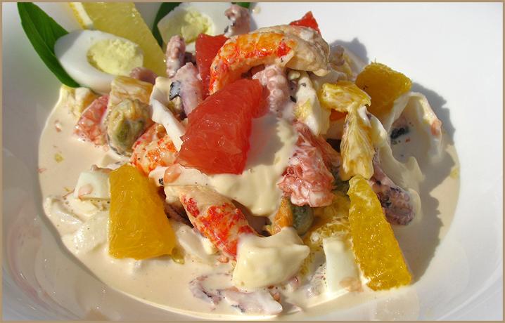 рецепты салатов из кальмаров отзывы