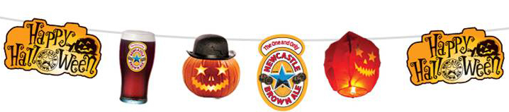 Newcastle Brown Ale Halloween