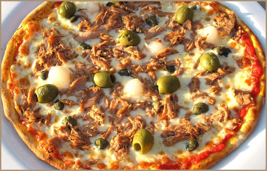Пицца с тунцом рецепт