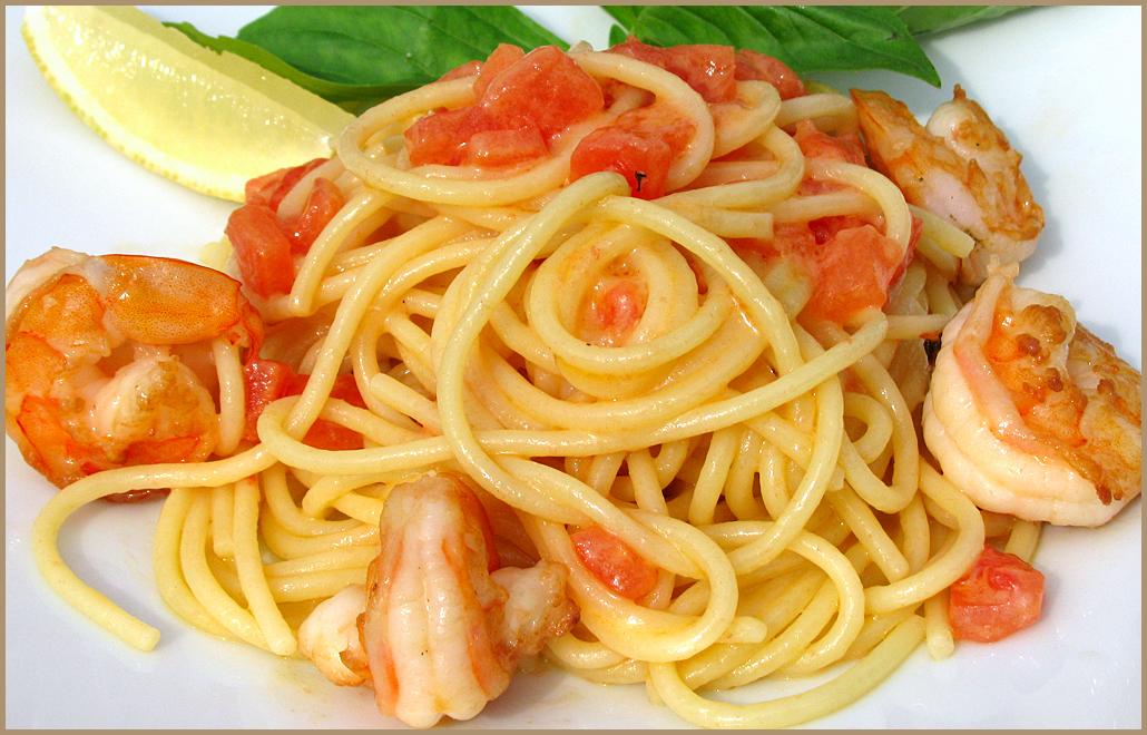 Паста рецепты с креветками