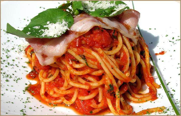 Итальянская паста с грибами в сливочном соусе | Рецепт