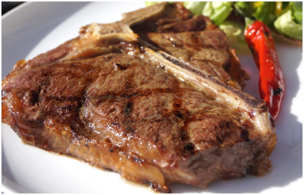 стейк из говядины на гриле рецепт с фото #10